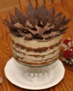 Tiramisu Eggnog Trifle