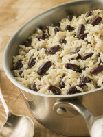 Rice with Peas (Beans)